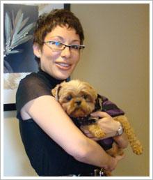 Dr. Stella at Pasado's Safe Haven